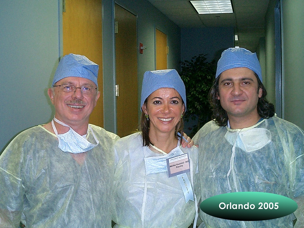 TransMed crew at the ISHRS convention in Orlando 2005